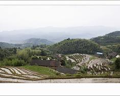 江西崇义县丰州乡小坑梯田自驾行摄