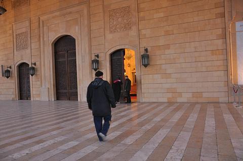 贝鲁特蓝色清真寺旅游景点攻略图
