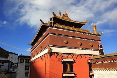 扎什伦布寺旅游景点攻略图