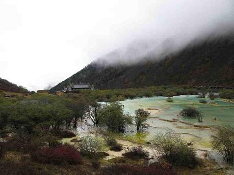 黄龙风景名胜区旅游景点攻略图