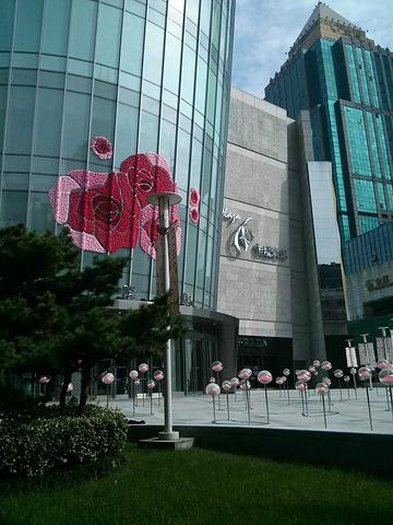 """""""恒隆广场里面的品牌无一不是顶级档次的,从西康路这里一眼看过去就是醒目的Hermes商标,紧接着..._上海恒隆广场""""的评论图片"""