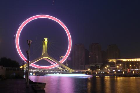 天津之眼旅游景点攻略图