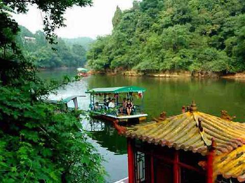 烟霞湖旅游景点图片