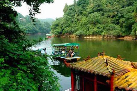 烟霞湖旅游景点攻略图