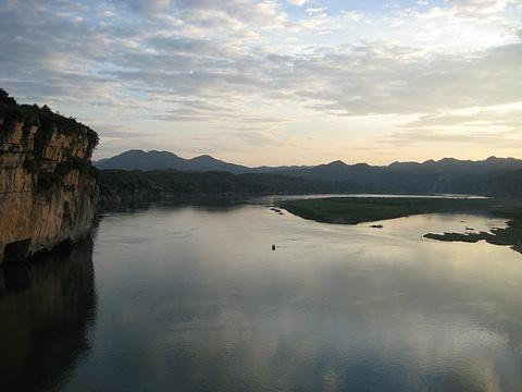 胭脂湖旅游景点图片
