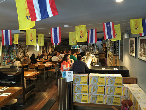考山路泰国美食旅游景点攻略图