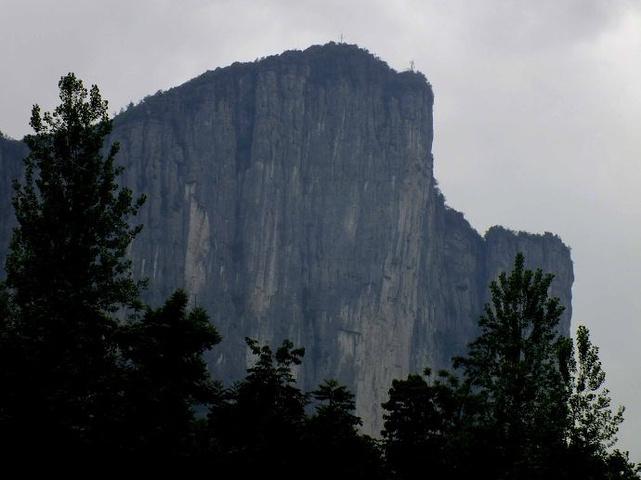 0米以上的独立山峰30余座.沐抚 大小楼门里面在历史上曾居住过一图片