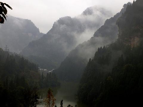 四面山景区旅游景点攻略图