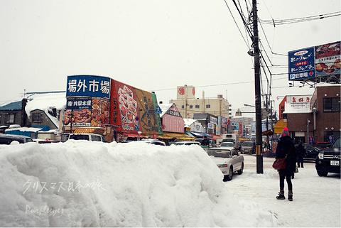 札幌场外市场旅游景点攻略图