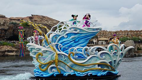 东京迪士尼乐园旅游景点攻略图