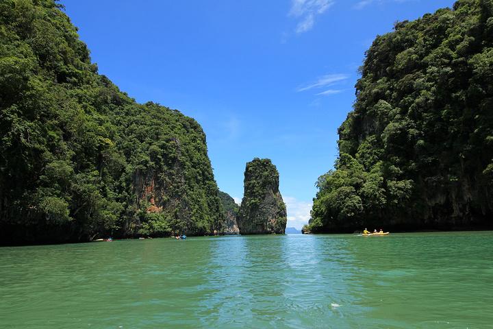泰国斯米兰岛_2020【皮艇游】攀牙湾皮艇探险是最经典也最好玩的。这个景点 ...