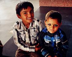 我与印度大地的一次亲密接触--印度游记