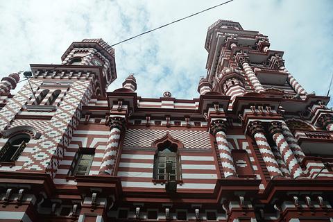 Jami-Ul-Alfar清真寺旅游景点攻略图