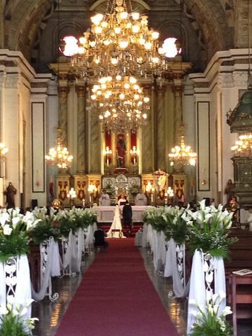 """""""非常有幸能见证这一美丽的时刻。喜欢他的建筑与宗教融合的这么美丽_圣奥古斯丁教堂""""的评论图片"""