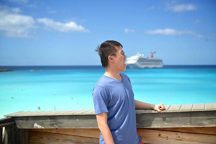 """""""游览了一番准备回船了,大家别想歪,Lomensee大神只是困了,我和他什么关系都没有。唉往事不要再提_半月湾""""的评论图片"""