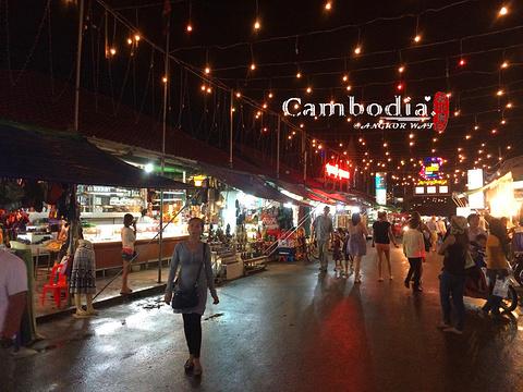 吴哥夜市旅游景点图片