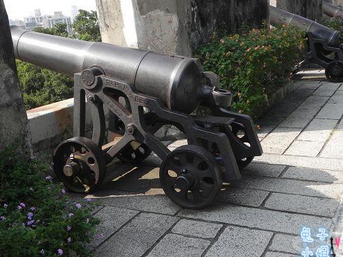 大炮台图像