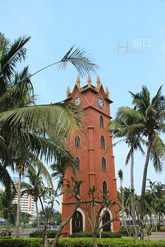 海口钟楼旅游景点攻略图