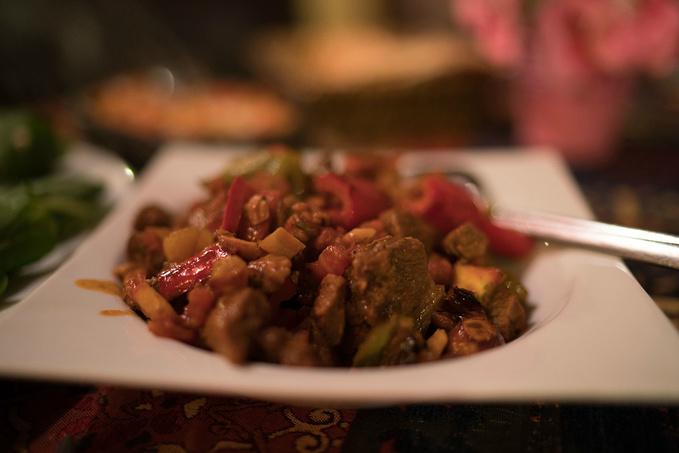 哦,我的朋友。土耳其菜,吃的是热情。图片