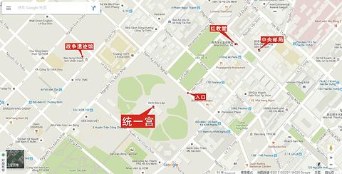 统一宫旅游景点攻略图