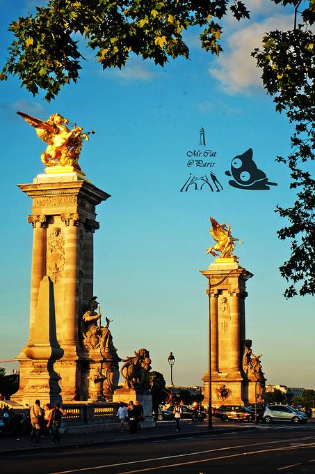 亚历山大三世桥图片