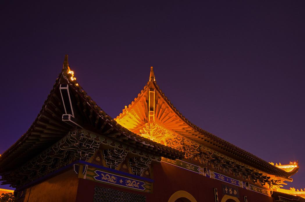 夜游茶圣故里——湖北天门
