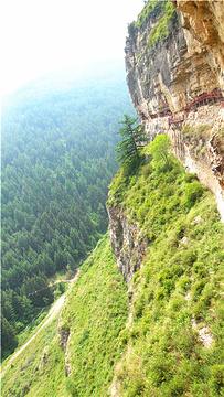 悬崖栈道旅游景点攻略图