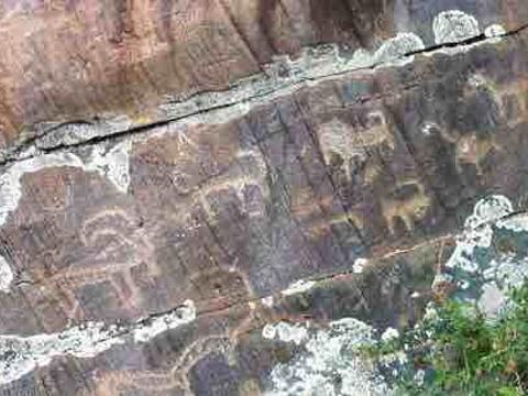 吐鲁克岩画旅游景点图片