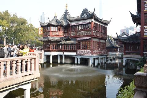 上海九曲桥旅游景点攻略图