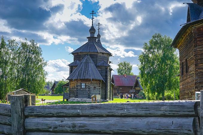 木造建筑及农民生活博物馆图片