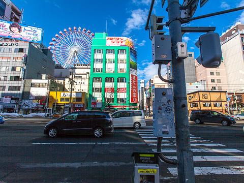 狸小路商店街旅游景点图片