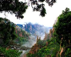 盛夏登顶,雾里看黄山