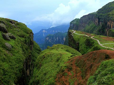 鸡公山大峡谷旅游景点图片