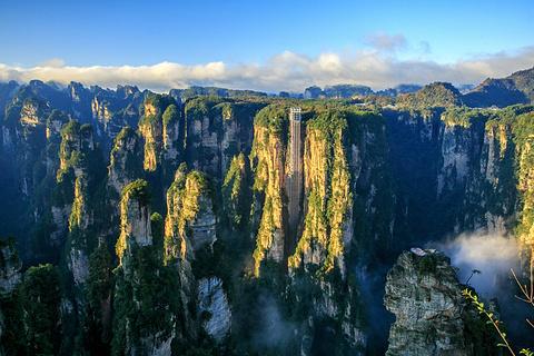百龙天梯的图片