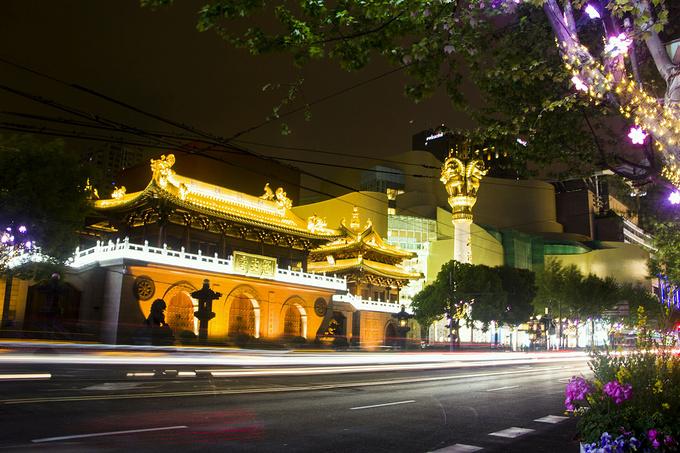 静安寺图片