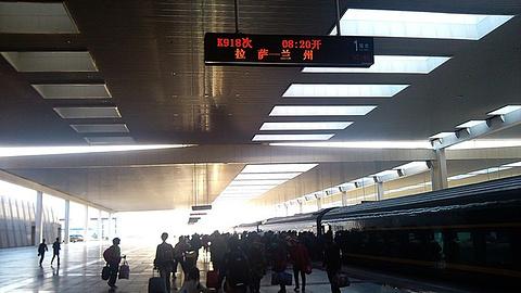 拉萨站旅游景点攻略图