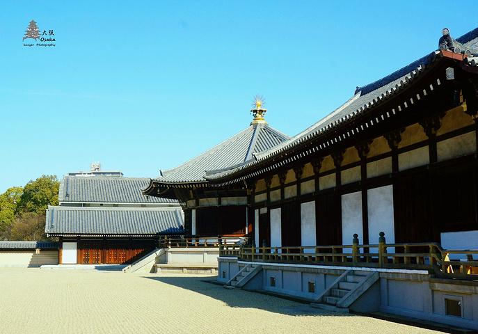 """""""中老年游客居多,很多都是日本人_四天王寺""""的评论图片"""