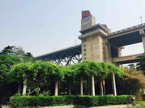 南京长江大桥公园旅游景点图片