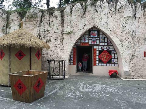 锦绣中华民俗文化村旅游景点攻略图