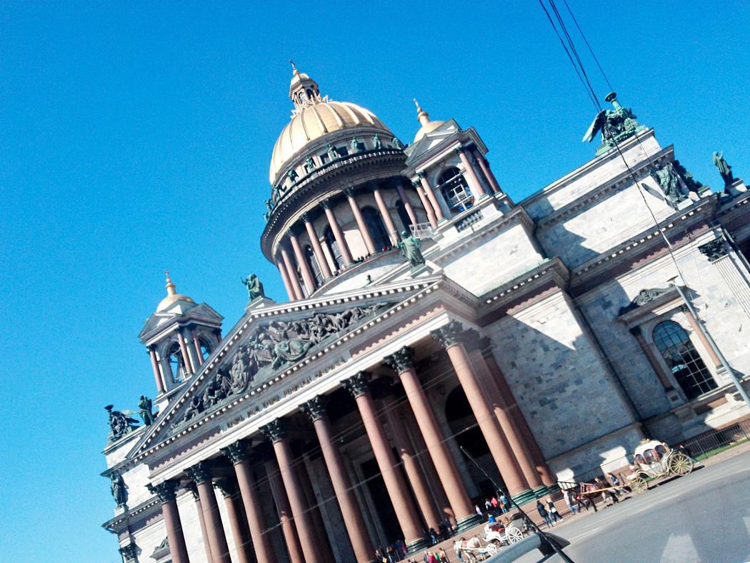 五月梦回彼得堡
