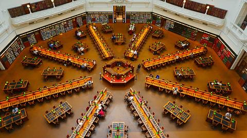 维多利亚州立图书馆旅游景点攻略图