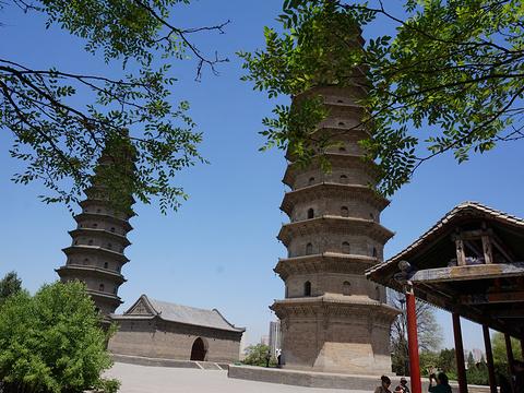 双塔寺旅游景点图片