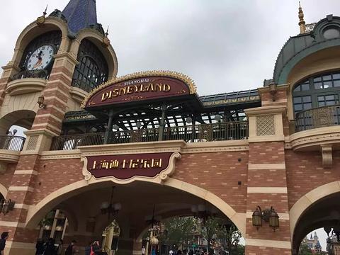上海迪士尼旅游景点攻略图