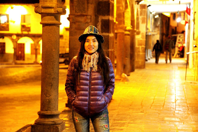 熟悉的Cusco广场图片