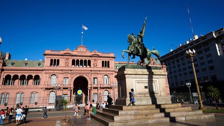 """""""...是全国示威游行游行最多的地方_阿根廷玫瑰宫""""的评论图片"""