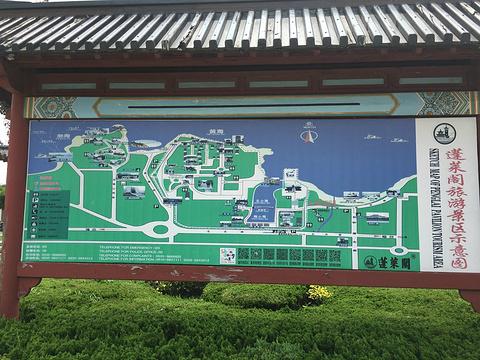 蓬莱阁旅游景点攻略图