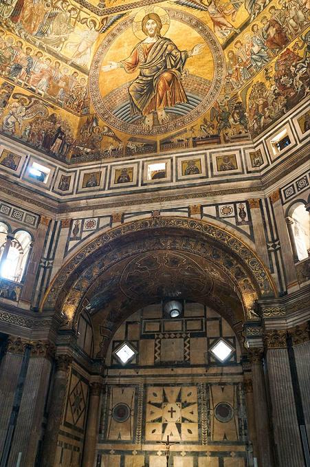 圣母百花大教堂洗礼堂图片