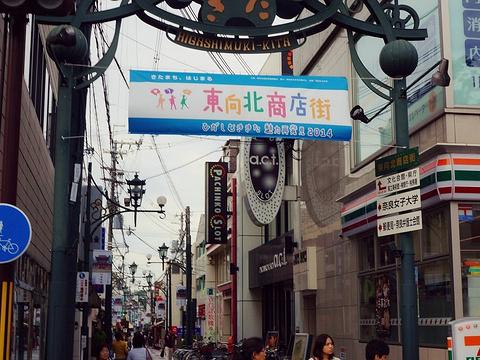 东向北商店街旅游景点图片