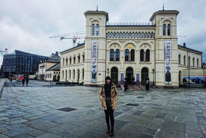 诺贝尔和平中心图片