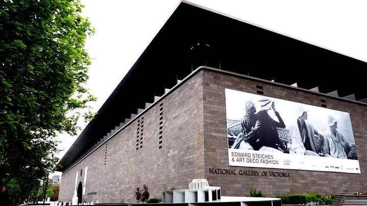"""""""场馆建的挺不错。但第一次在他国博物馆看到..._伊恩·波特中心:澳大利亚维多利亚国家美术馆""""的评论图片"""